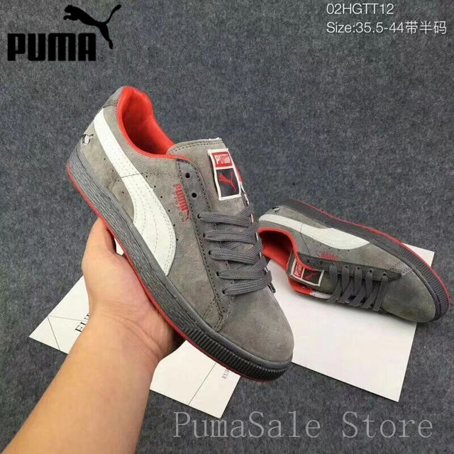 c2708ea2f8c Puma Suede X Staple Suede Women s Sneakers Soft Upper Clyde Pigeon  Comfortable Shoes Men Sports Badminton Shoes Size 36-44