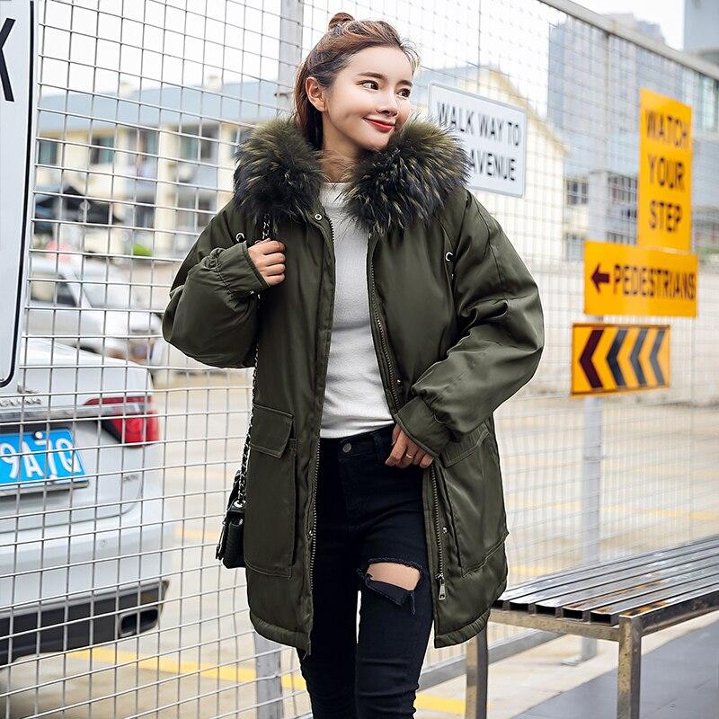 2019 Casacos Manteau D'hiver Feminino Outwear Veste Vestes Noir army Vêtements Inverno Femmes Parka De Chauds Green Manteaux 0rwAxBtrnq
