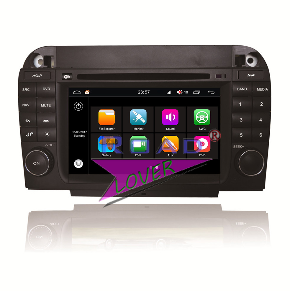Winca S190 Android 7.1 Quad Core 2GB RAM Car Multimedia DVD Player For Benz S W220 (1998-2005) Stereo GPS Tracker Navigation MP3
