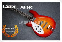 1241a1247d7 High Quality Chinese Cherry Sunburst Hollow Body Left Handed Electric Rick  Guitar Include Free Shipping