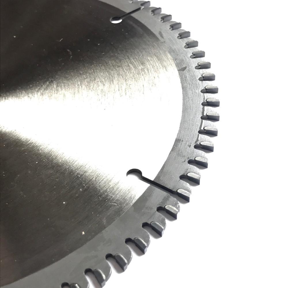 Tasuta saatmine Professionaalne kvaliteet 180 * 25,4 * 2,2 * 60z / 80z õhuke kerf TCT saeleht Värvilisest metallist alumiinium vask lõiketerad