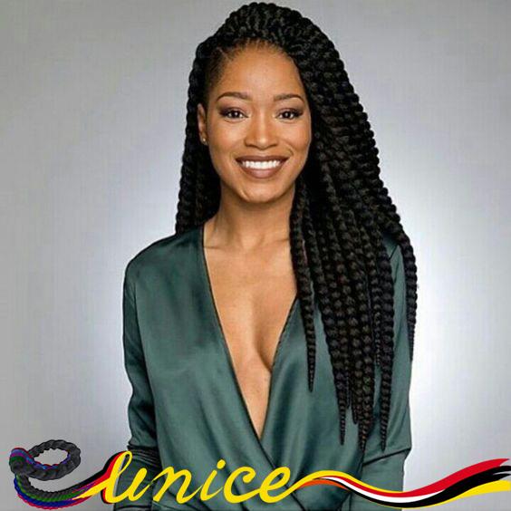 Wondrous Aliexpress Com Buy Black Braided Hairstyles Senegalese Braids 18 Short Hairstyles For Black Women Fulllsitofus