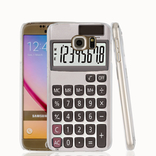 16049 Calculator cell phone case cover for Samsung Galaxy S7 edge PLUS S6 S5 S4 S3