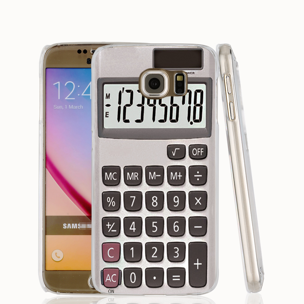 16049 font b Calculator b font cell phone case cover for Samsung Galaxy S7 edge PLUS