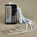 Unisex Bdsm Electro Shock Juguetes Sexuales Descarga Eléctrica Nipple Clamps Clips Pezón Clítoris Estimulación Eléctrica Productos Del Sexo Del Clip