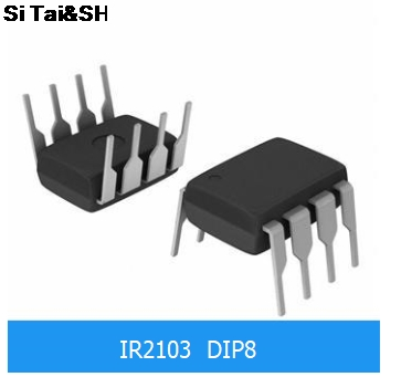 10pcs/lot <font><b>IR2103</b></font> DIP-8 supply IC favorable 100%good HALF-BRIDGE DRIVER image