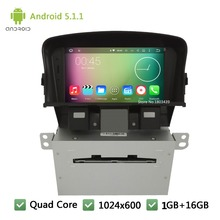 Quad Core 16GB Android 4.4.4 7″ HD 1024*600 WIFI Car DVD Player Radio Audio Stereo Screen For Chevrolet Holden Cruze 2008-2014
