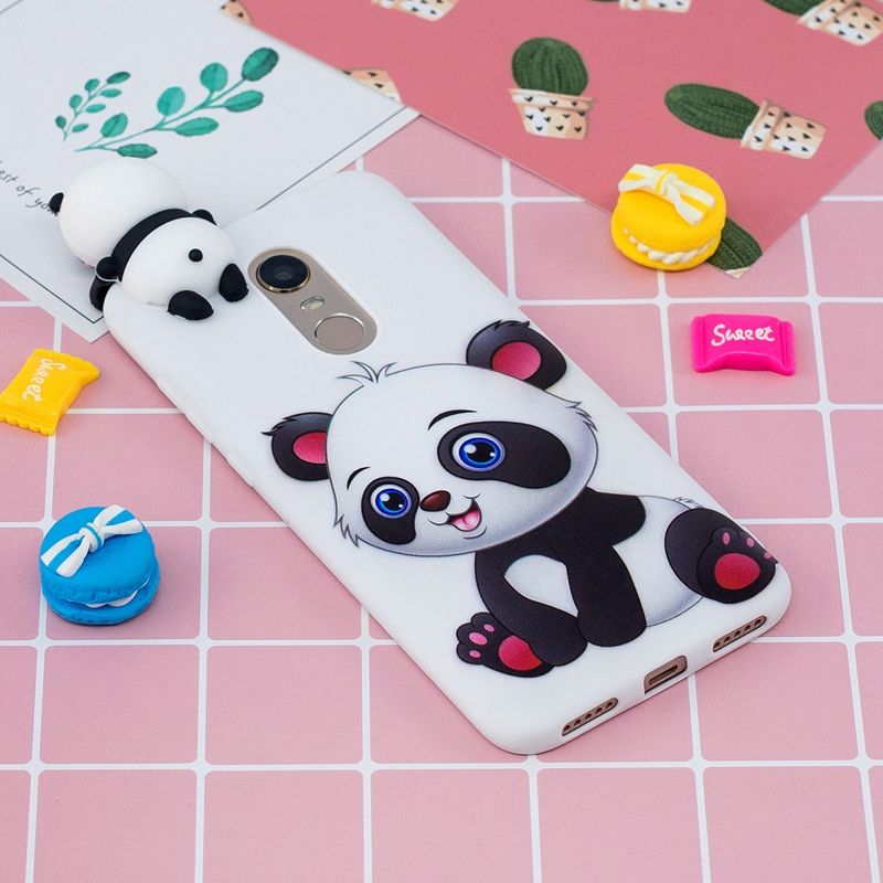 Collection Here For Coque Xiaomi Redmi 5 Plus Case 3d Cartoon Toy Cat Panda Soft Silicone Back Cover For Xiaomi Redmi 5 Plus Redmi5 Plus Case Strengthening Waist And Sinews Phone Bags & Cases