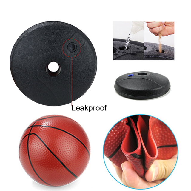 Plastic Standing Basketball Hoop