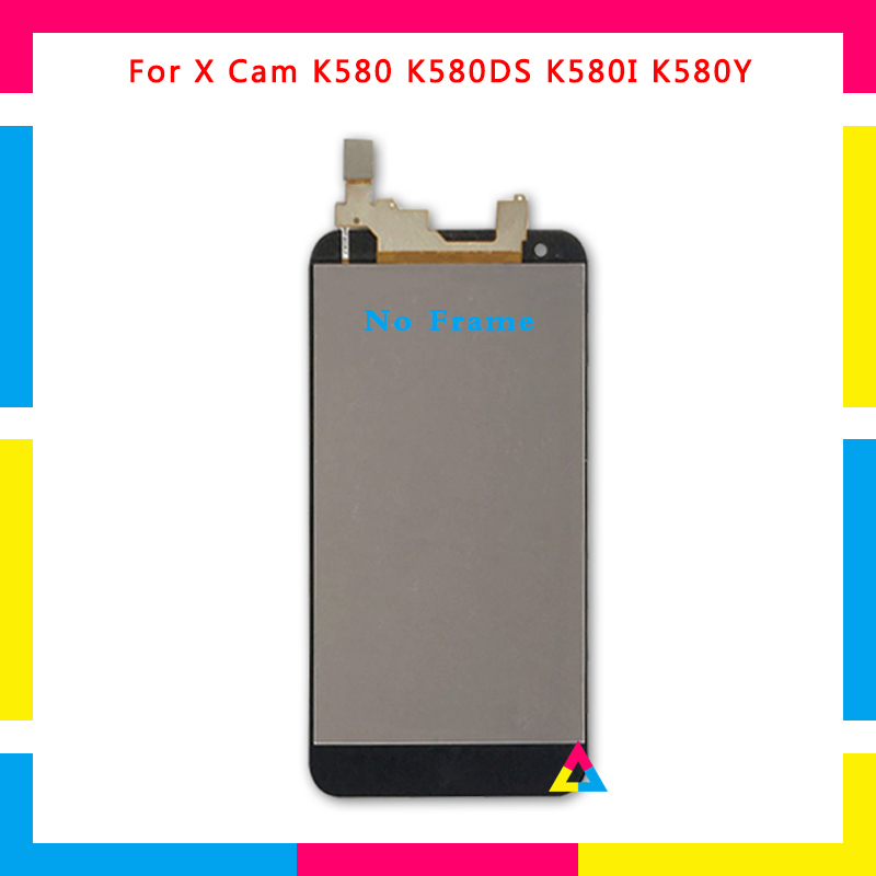 5pcs/lot LCD Display Screen With Touch Screen Digitizer Assembly For LG X Cam K580 Gray Gold No Frame or with Frame DHL5pcs/lot LCD Display Screen With Touch Screen Digitizer Assembly For LG X Cam K580 Gray Gold No Frame or with Frame DHL