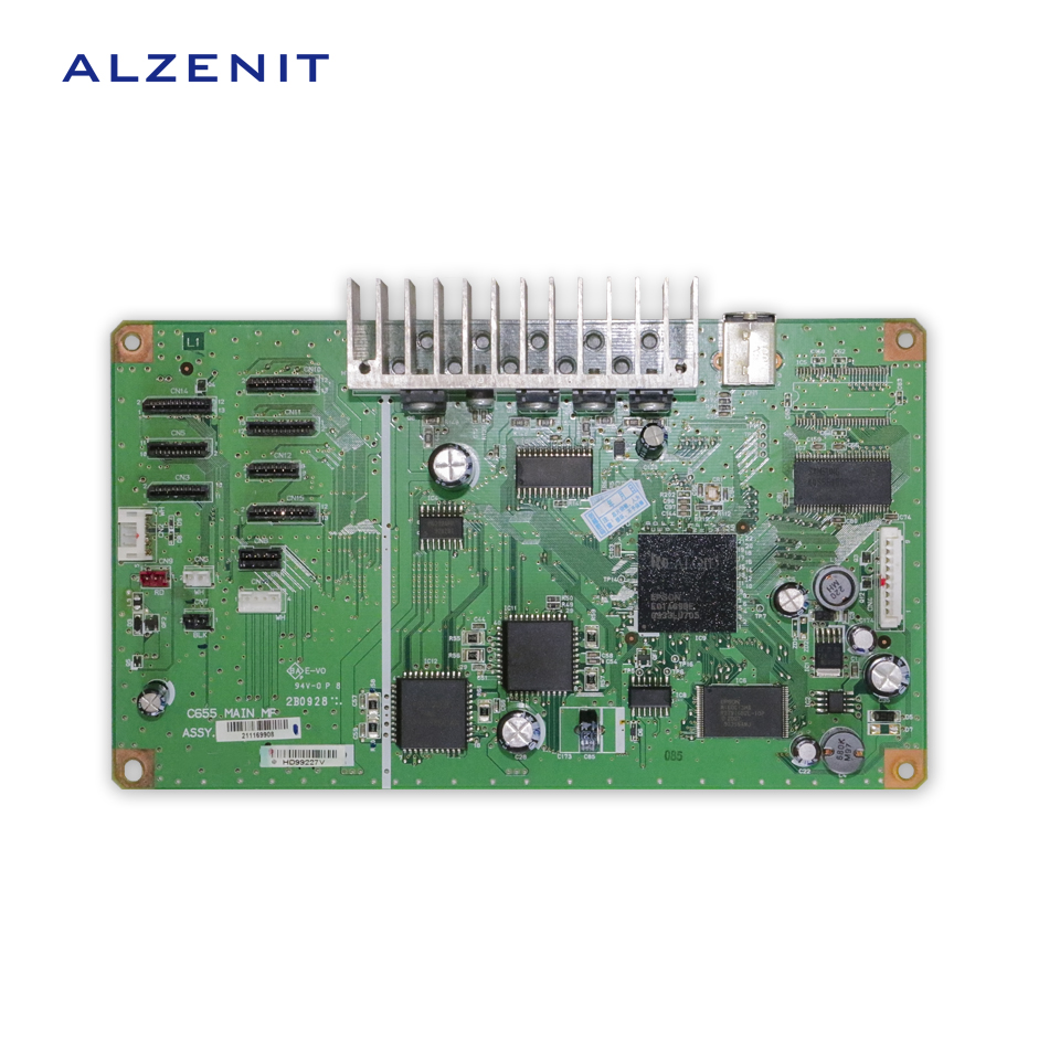 ALZENIT For Epson 1400 R1400 Original Used Formatter Board Printer Parts On Sale brand new inkjet printer spare parts konica 512 head board carriage board for sale