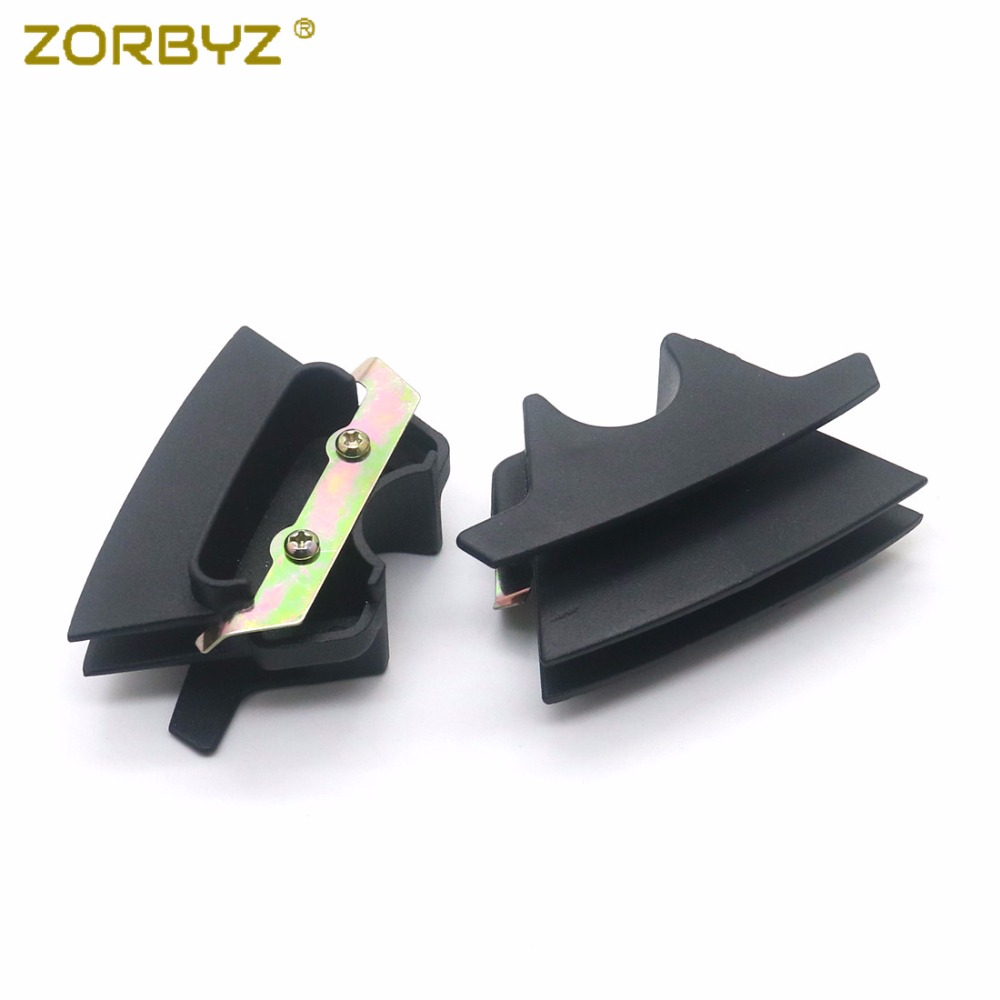2pcs set Aluminum Alloy Accessory Center Control Dasdboard Side Cover Trim For Landrover Range Rover Evoque