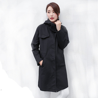 2018 New Trench Coat for Women Size up to 3XL Women Windbreaker Autumn Coat Casacos Femininos Over Long Women Coat