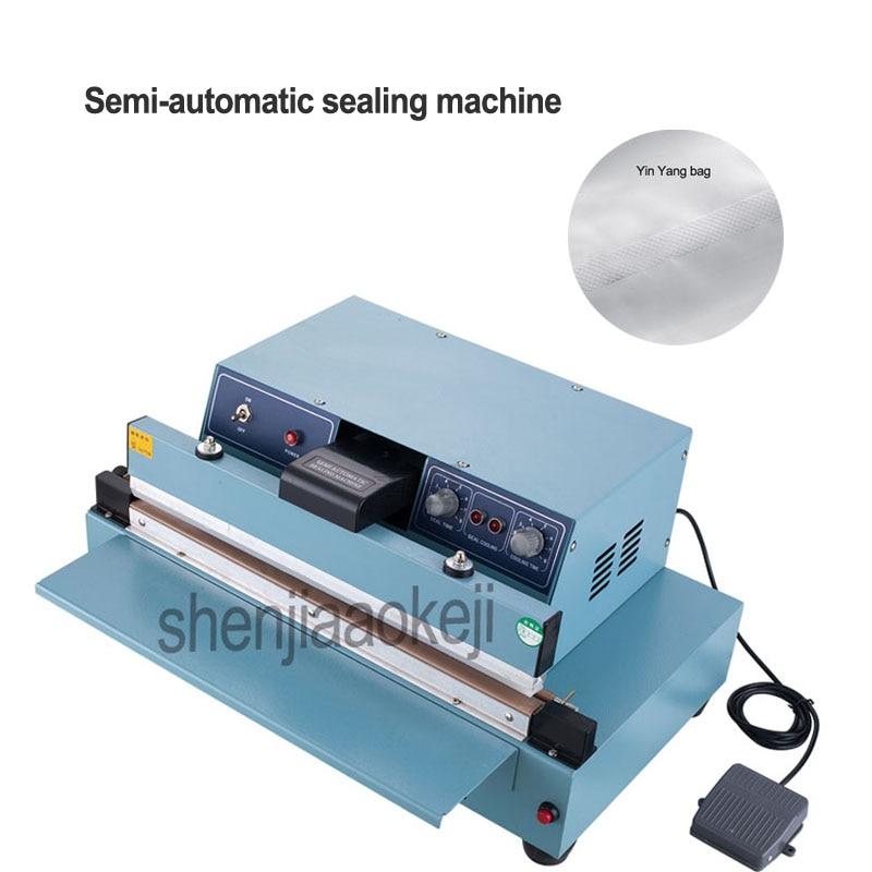1pc Commercial Desktop semi automatic sealing machine ...