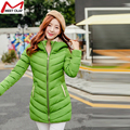 Hot wadded jacket female 2015 new women's winter jacket down cotton jacket slim parkas ladies coat plus size M-3XLYL1219