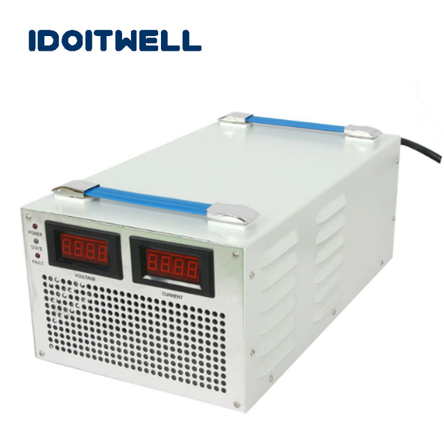 Customized 4000W series Battery Charger 24V 100A 36V 80A 48V 60A 60V 50A with display for Lead acid or Li-ion or LifePO4 battery