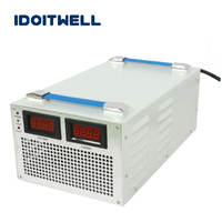 Customized 4000W series Battery Charger 24V 100A 36V 80A 48V 60A 60V 50A with display for Lead acid or Li ion or LifePO4 battery