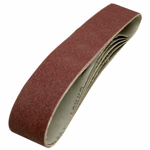 Image 2 - 10แพ็ค686*50Mm Sanding Belts 40 1000 Gritอลูมิเนียมออกไซด์Sander Sandingเข็มขัด