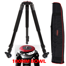 25kg Payload 703A Aluminum Skilled Tripod Legs 100mm bowl for Video Digital camera Capturing