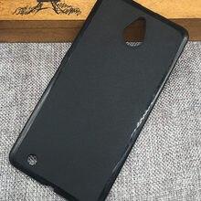 Black Anti Skidding Gel TPU Slim Soft Case Back Cover For Microsoft Nokia Lumia