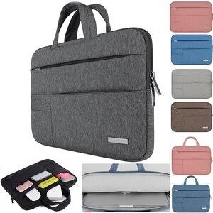 Image 1 - Men Women Portable Notebook Handbag Air Pro 11 12 13 14 15.6 Laptop Bag/Sleeve Case For Dell HP Macbook Xiaomi Surface pro 3 4
