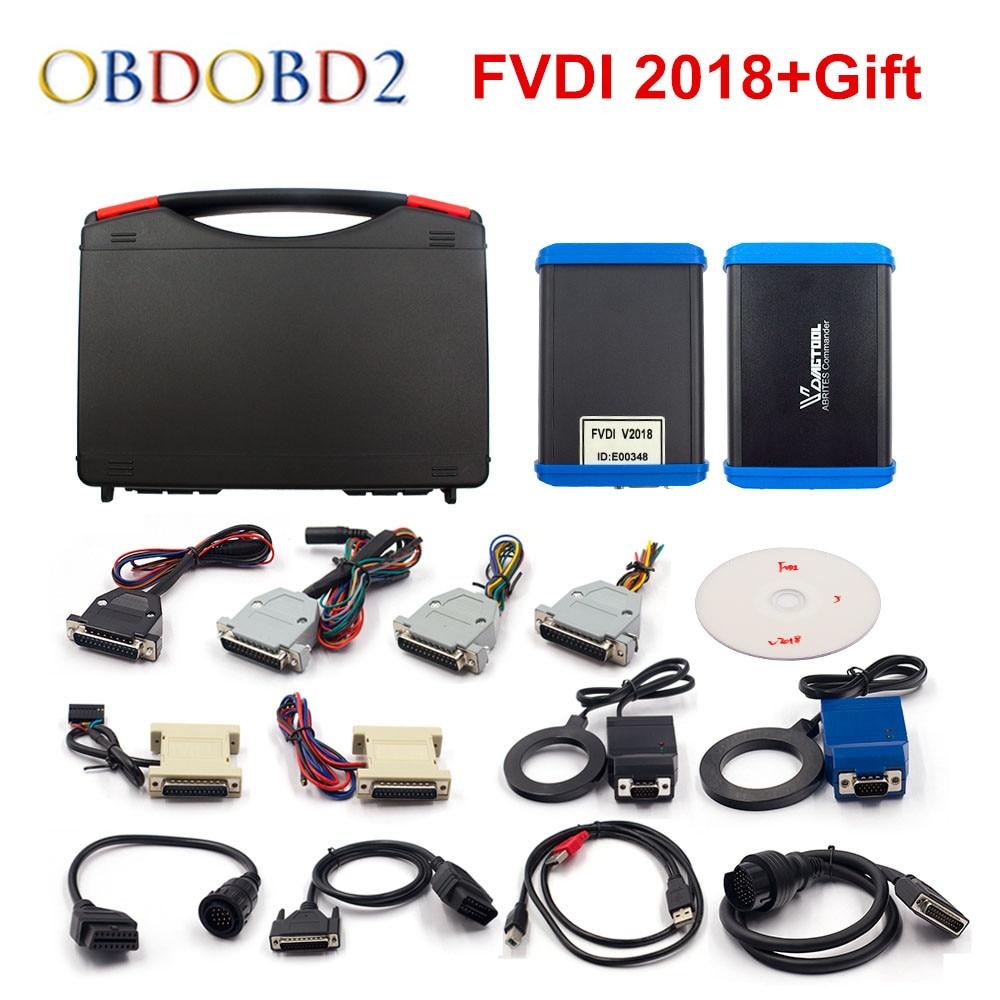 FLY FVDI 2018 Original FVDI ABRITES Commander FVDI Full Version 18 Software No time limited V2014