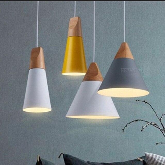 Aliexpress.com : Buy LukLoy Modern Lights Pendant Natural ...