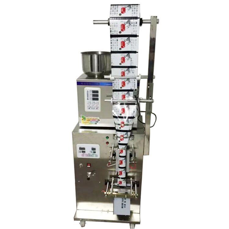 Nuovo 2-200g pieno bustina di tè automatica pesatura di riempimento macchina per l'imballaggio con la parte posteriore sigillante