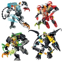 New Star Warrior Soldiers EVO Model Building Kits Compatible leGoINGly Hero Factory 6.0 Daniel Rocka Blocks Gifts Toys