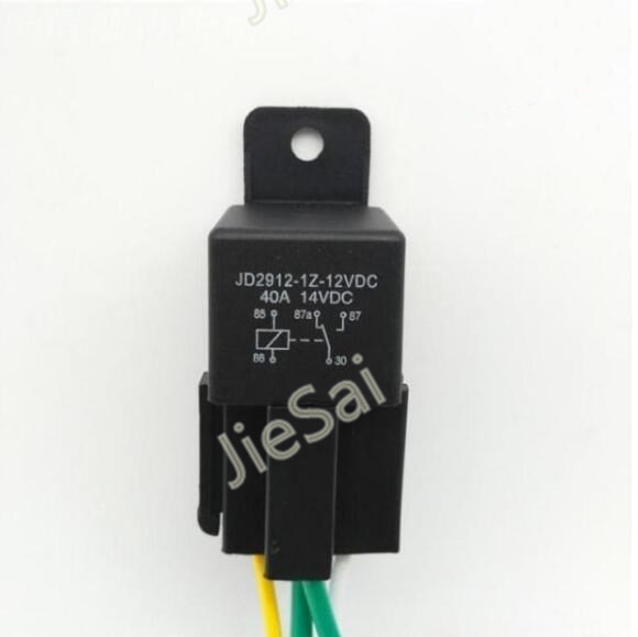 5 pin 40A/DC12V auto relay and relay socket for car GPS navigator high quanlity automotive relay 40a 12vdc auto relay 5 pin for car speaker with relay socket