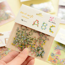78 pcs/bag vintage LettersΝmbers photo album Scrapbook decoration stickers DIY Handmade Gift Card Scrapbooking Free shipping(China)