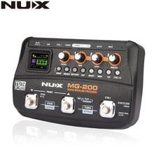 NUX MG-200 Guitar Modeling Processor Guitar Multi-effects Processor with 55 Effect Models стоимость