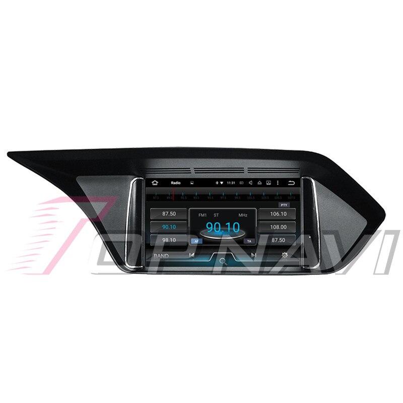 Topnavi Android 8.0 voiture PC lecteur Auto Radio pour Mecerdes Benz C (2014 2005 2006 2007 2008-2017) GPS Navigation 4 + 32 GB Octa Core - 2