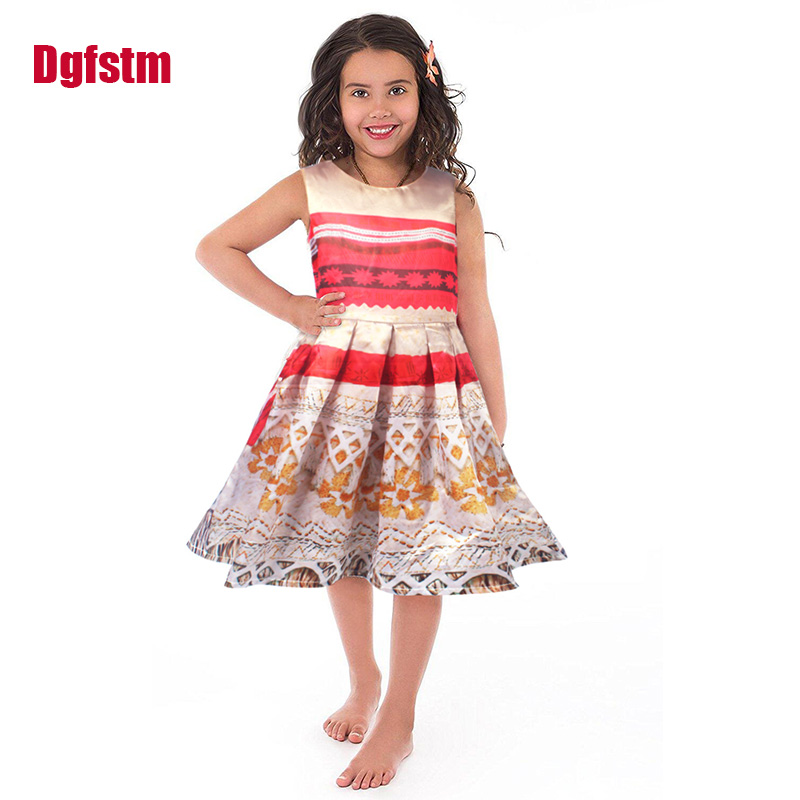 Little Adventures Polynesian Princess Dress Up Costume for Girls Moana party Christmas Dresses Vaiana Halloween Cosplay Clothing movie princess moana costume for kids moana princess dress cosplay costume children halloween costume for girls party dress set