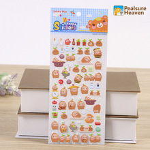 1pcs Korea Cartoon cute grass PVC stickers album diary Notebook DIY paper decorative sticky sticker for