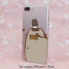 Pusheen Cat Case for iPhone (15 types)