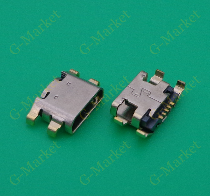 100pcs New Micro Mini USB connector Charging port jack socket power plug dock Replacement