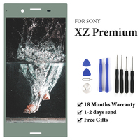 TIMEWAY For Sony Xperia XZ Premium XZP G8142 G8141 LCD Display With Frame Touch Screen AAA display