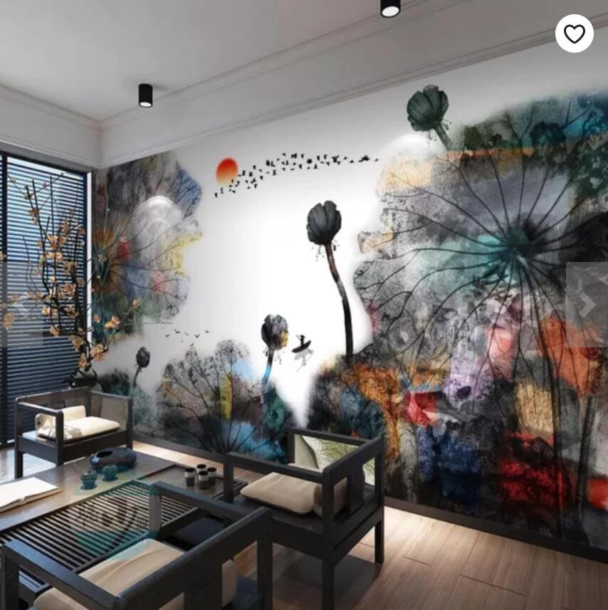 3D Abstract Landscape Views Wallpaper Mural Wall Photo