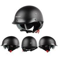 Casque Moto Retro Vintage Harley Helmet Women And Men Open Face Half Helmets For Sale XHT