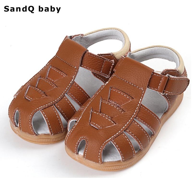 Boys Sandals 2019 Ny sommer stil Børn Sko til drenge Casual Flad Kids Beach Sandals Børnetøjssko