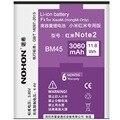 Nohon bm45 batería 3060 mah baterías de repuesto para xiaomi redmi hongmi note2 red rice note 2