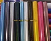Best Quality 18 Colors Black Rose Gold Yellow Matte Satin Chrome Vinyl Film Wrap Frozen Wrapping Foil Bubble Free Size:1.52*18M