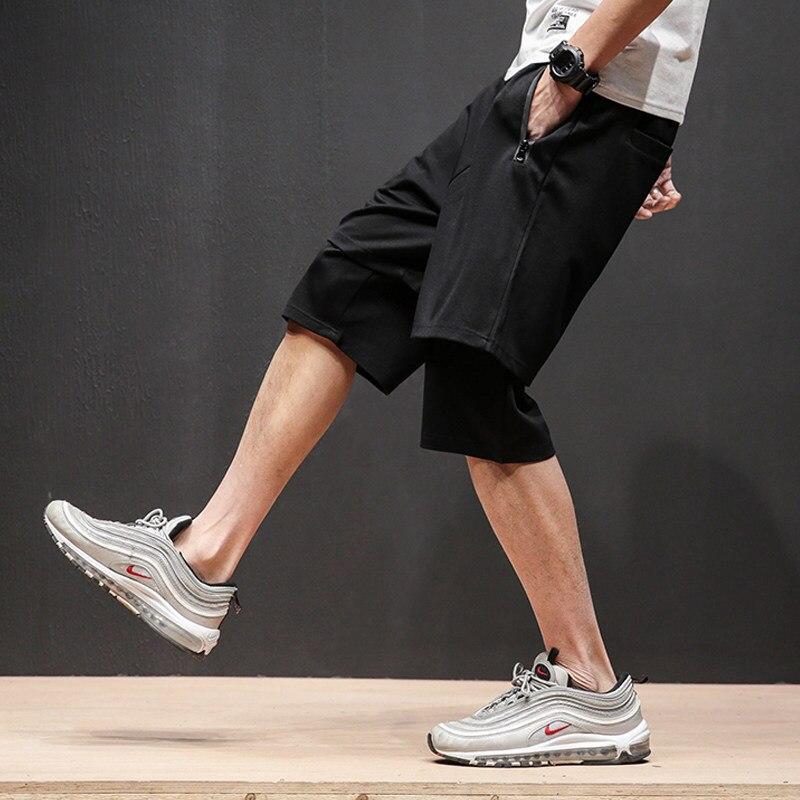 2018 Summer Men Hip Hop Short Pants Drawsting Loose Fit Street Casual Shorts Brand Harem Pants Man Short Trousers Plus Size 5XL