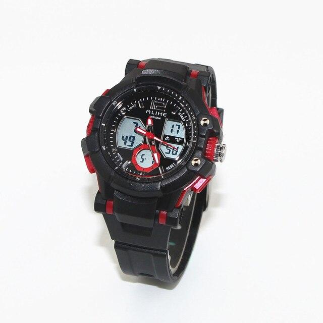 New Alike Student SPorts Watch Children 50M Swim Waterproof Fashion Casual Digital LED Multi-Function Wristwatches