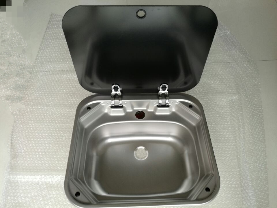 RV Caravan Camper Stainless Steel Hand Wash Basin Kitchen Sink ...