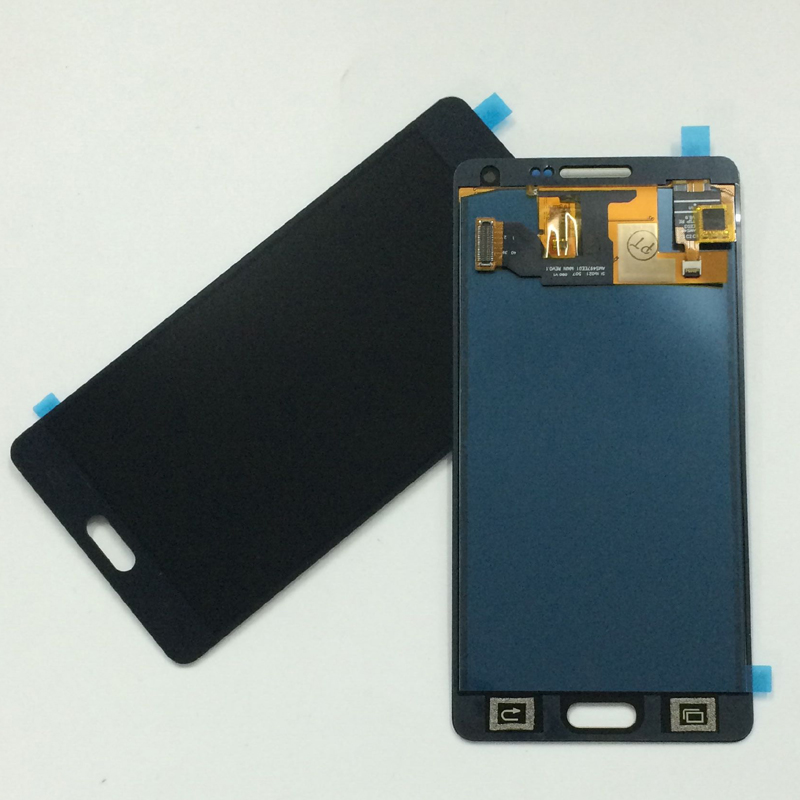 Black Adjust For Samsung Galaxy A5 2015 A500 A500F A500FU A500M A500Y A500FQ Touch Screen Digitizer Glass + LCD Display Assembly