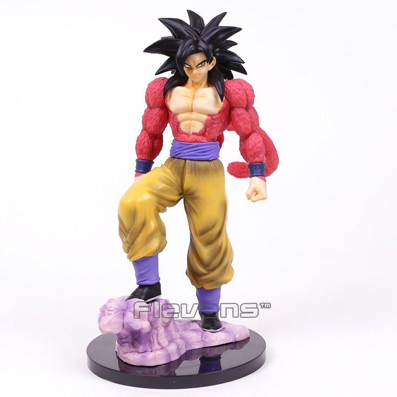 Dragon Ball GT Super Saiyan 4 Son Goku Statue PVC Figure Collectible Model Toy 26cm chinese red bronze carved buddhism dragon figure of dragon king sculpture statue