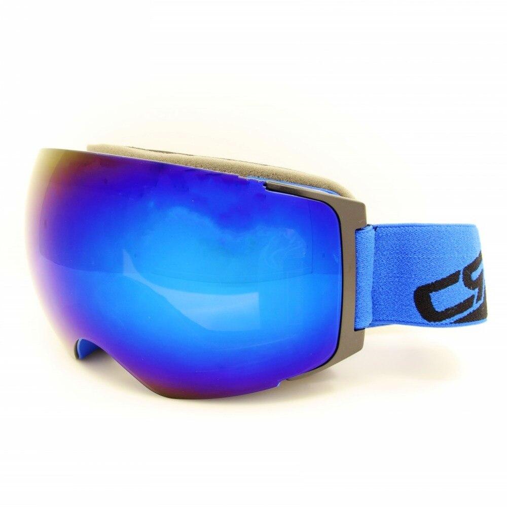Prix pour Professionnel Ski Lunettes avec Aimant Rapide Lentille Changement Système UV400 Anti-brouillard Sphérique Lunettes Snowboard Lunettes Ski Lunettes