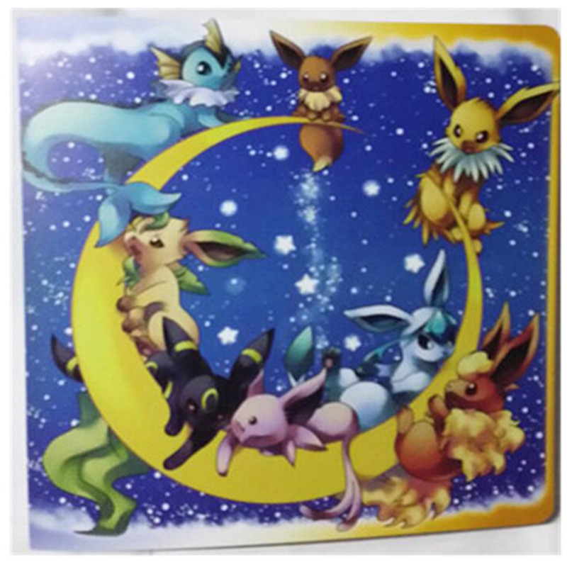 Pikachu Collection 324 Pokemon cards Album pokemon Novelty gift Book List playing card holder album - LUOSB Store store